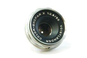 VINTAGE-lens-Voigt-Pays-color-Skopar-X-50-mm-f2-8-Dkl-Mount-ref-551944