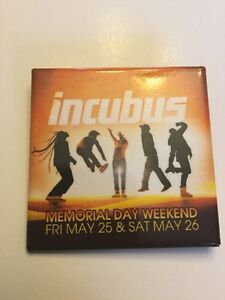 Rare Incubus Concert Pin On Site Button Very Limited