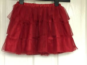 Girl's Tutu Skirt, Mamas and Papas, 18-24m, 18-24 Months, Baby, Toddler, Red