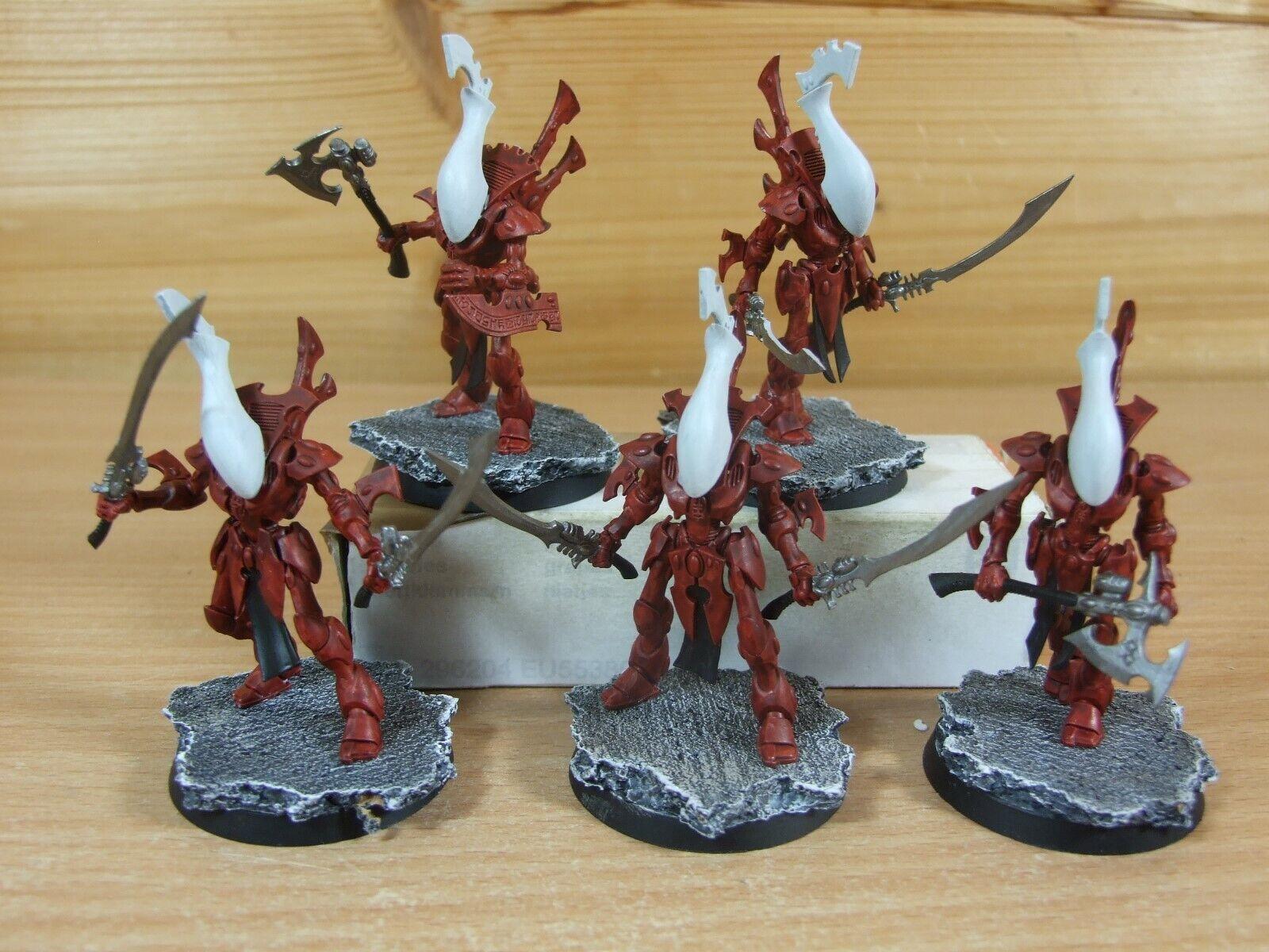 mas preferencial 5 plástico Warhammer Eldar Eldar Eldar wraithblades Pintado (299)  70% de descuento