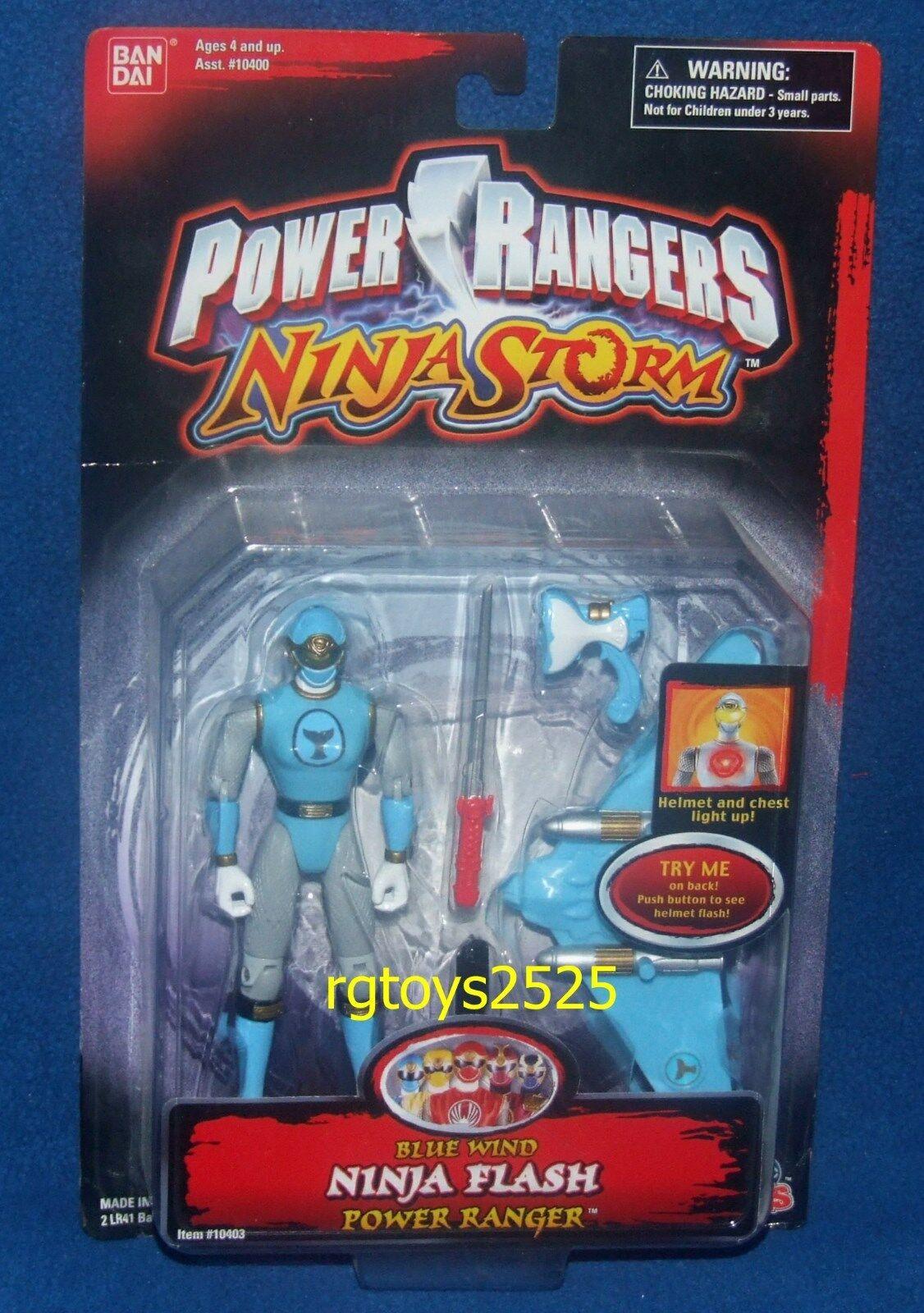 Power rangers ninja sturm 5  Blau wind ninja - power ranger neu versiegelt