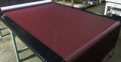 """Marine Vinyl Fabric Wine Red Outdoor Car Upholstry 54/"""" Wide By The Yard"""