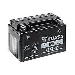 Bateria Yuasa YTX9-BSBTX9-BSFTX9-BSCTX9-BSDTX9-BS24h