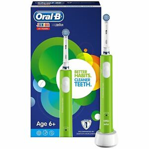 Oral-b-Junior-Bambini-Spazzolino-Elettrico-Ricaricabile-per-Invecchiato-6-Verde