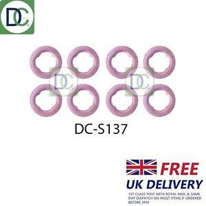 dcs124 joints Pack de 6 AUDI A4 2.5 TDI Quattro Diesel injecteur rondelles