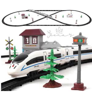 New-Railway-Electric-Train-Toy-Rails-Railway-With-Train-And-Rails