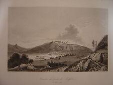Grande gravure du Combat du Pont de NOEFFELS le 25 septembre 1799
