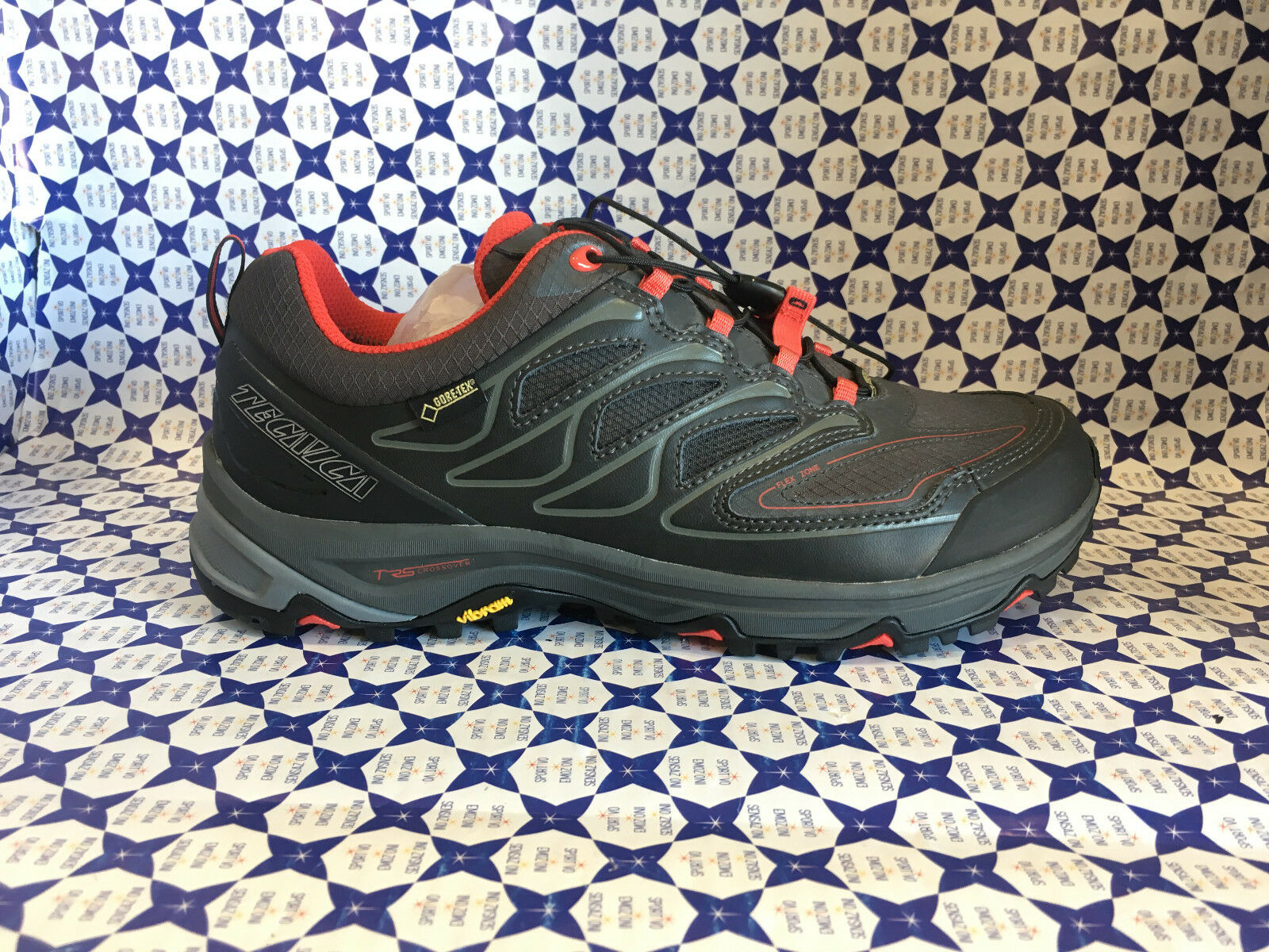 shoes Trekking  Tecnica men - Scirocco Low GTX MS - black red - 112331  clearance
