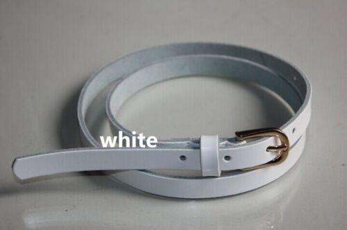 MULTI COLORS New genuine Leather plain Belt Solid woman Waistband Waist Fashion