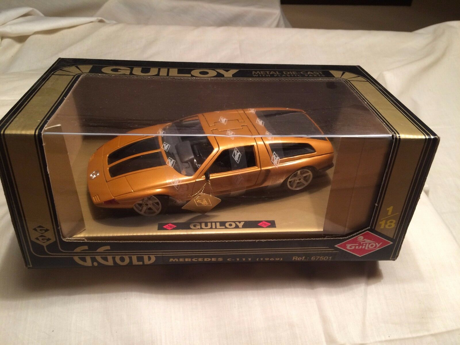 Mercedes Benz C 111 Guiloy 67501 1 18 scale