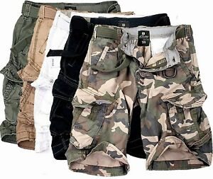 a0cf4e90f546a4 Jet Lag Men's Cargo Shorts short Bermuda Knee Length Summer Take off ...