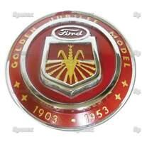 Jubilee Chrome Plated Hood Emblem Naa16600a, Naa16600b Restoration Quality