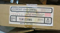 Ge Tlm1220ws 200 Amp Main Lug 120/240 Volt Load Center- E1398