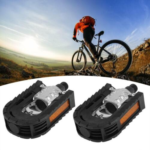 One Pair Bicycle Pedals Cycling Pedals Foldable Plastic Aluminum Alloy Durable