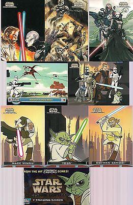 Star Wars Clone Wars 2004 Complete 90 Card Base Set
