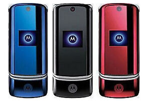 gsm original unlocked motorola krzr k1 mobile phone bluetooth 2mp rh ebay com Motorola KRZR Verizon Motorola MC9500