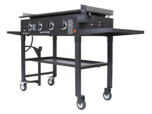 Blackstone 1554 36 Inch Outdoor Propane Gas Grill Griddle Cooking Station