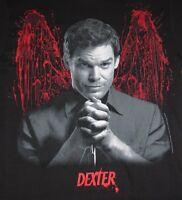 Dexter America's Favorite Serial Killer Adult wings T-shirt Showtime's Series