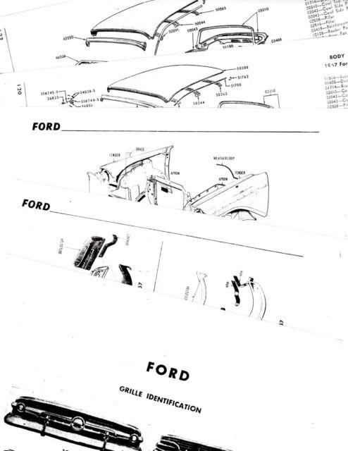 1957 Ford Ranchero Victoria Skyliner Body Parts Frame