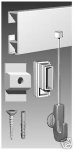 ARTI GALLERY WHITE PICTURE HANGING SYSTEM DELUX PRO KIT