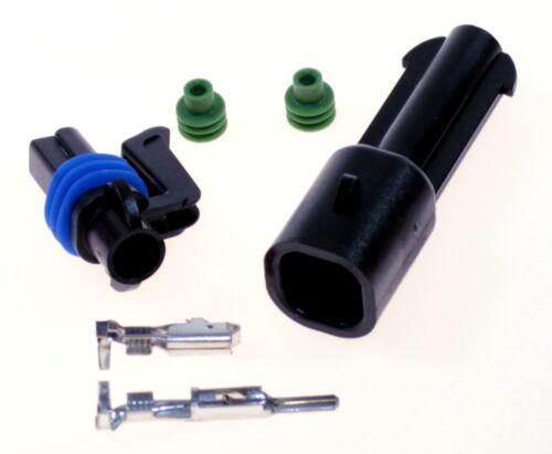 AMP SEAL 2,8 Stecker 1pol wasserdicht er Stecker Steckverbinder 1,5-2,5mm² Kfz