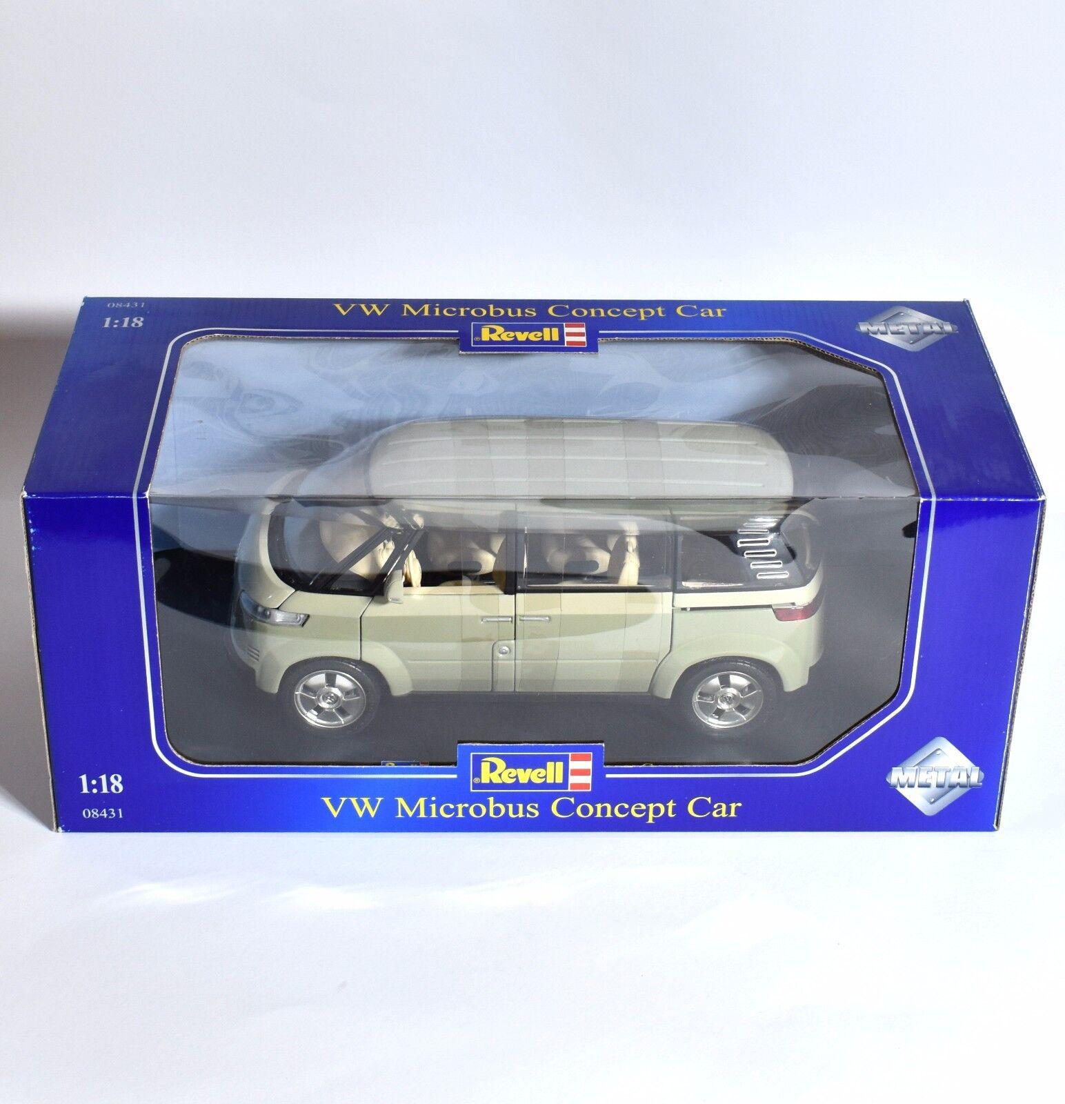REVELL 08431 VW VOLKSWAGEN MICROBUS BULLY concept car, 1 18, OVP, k028