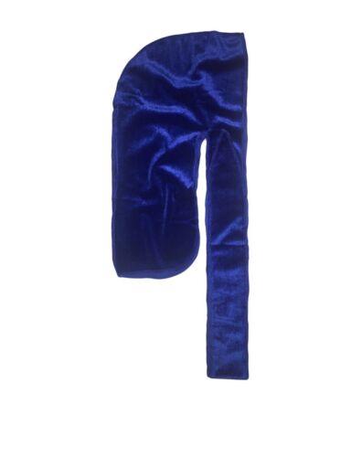 Luxury Velvet Du Rag for 360 Go 2 Rag 540,720 Waves Extra long straps Wave Cap