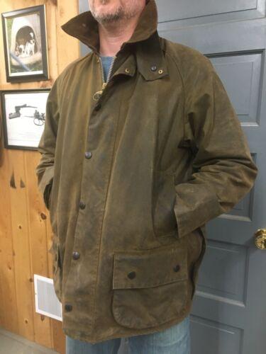Barbour Moorland waxed jacket