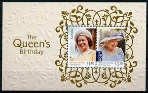 Australia Royalty Stamps 2020 MNH Queen Elizabeth II Birthday Royal Ascot 2v M/S