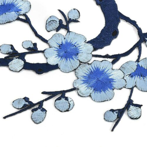 Applique Patch Clothing Iron Flower Sew Craft On Repair Embroidery