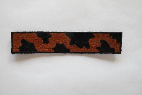 "#4058A 4-1//2/"" Trim Fringe Tiger Print,Leopard Print Embroidery Applique Patch"