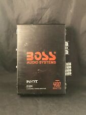 Boss Audio R1004 400W 4 Channel With 8 Ga Amp Kit