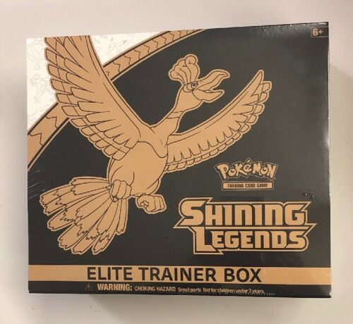 Pokemon Shining Legends Elite Trainer Box Shining Ho-Oh Sealed