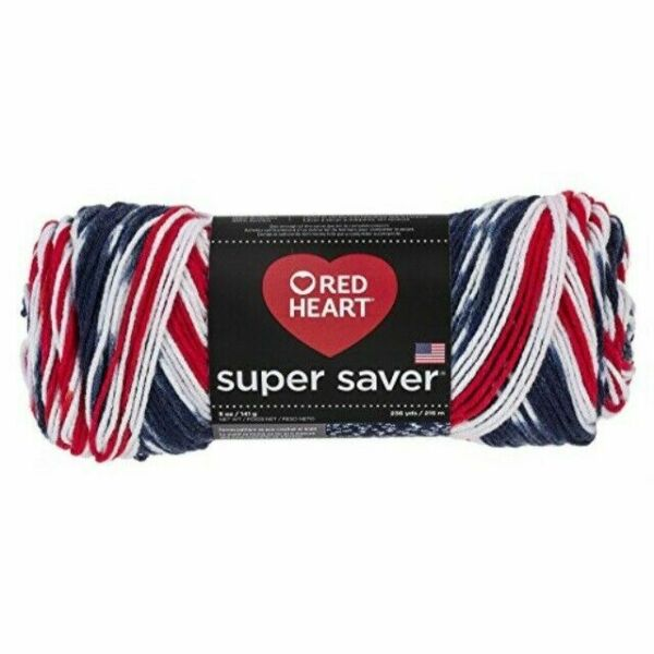 Americana Red Heart Super Saver Yarn E300.3943 Print
