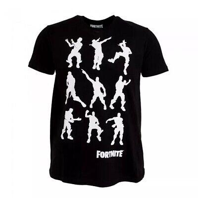 Fortnite Dance Moves Emotes Graphic Print T Shirt Mens Adults Size Xl Black Nwt Ebay
