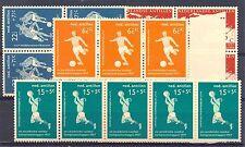 NED ANTILLEN 1957   # 265/68   (  x 5 )     KW € 50    ** PF  LUXE  FOOTBALL