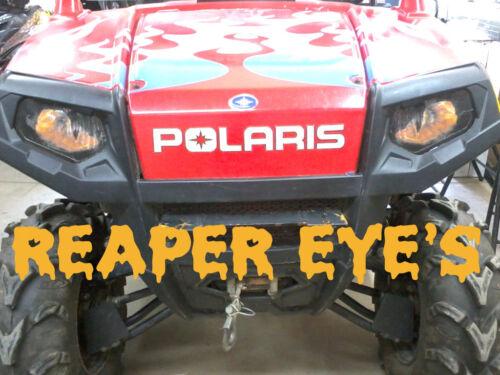 "Polaris Ranger RZR 800 BLUE EYES Head Light Cover/'s New Item /""ORIGINAL RUKINDCO"