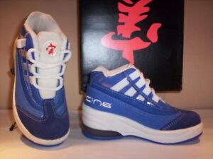 zapatillas-deportivas-zapatos-Pearcing-nina-bebe-azul-nuevos-n-modelo-29-30
