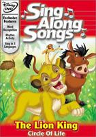 Disney's Sing Along Songs - Lion King Circle Of Life [dvd, New] Free Shipping