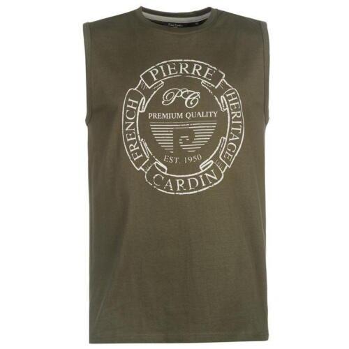 ✅ PIERRE CARDIN Herren ärmellos TShirt Freizeitshirt Muskelshirt Tank Unterhemd