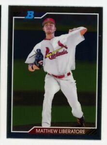 2020 Bowman Heritage Chrome 92CP-ML MATTHEW LIBERATORE St Louis Cardinals ROOKIE