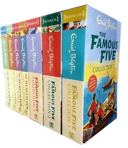 Enid-Blyton-Collection-Famous-Five-and-Secret-Seven-7-Books-Set-NEW-Pack