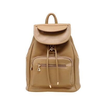 Vintage Women's Backpack Travel PU Leather Handbag Rucksack Shoulder School Bag