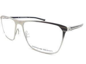 b6199cd3ece8 Porsche Design +0.25 to +3.5 Reading Glasses Titanium Silver   Black ...