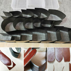 18pcs-Leather-Craft-Cutter-Punch-Strap-Belt-Wallet-End-Tool-Die-Cut-Hand-Craft