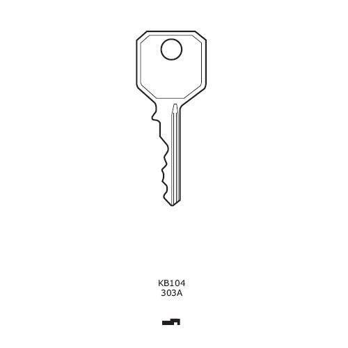 WMS 303a fenêtre remplacement clé clé Poignée de fenêtre