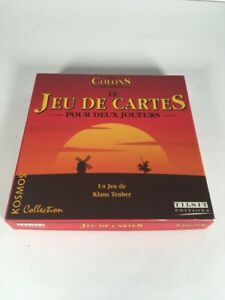 jeux de carte a deux joueurs Les Colons De Cantane Jeu De Cartes Pour Deux Joueurs Un Dé