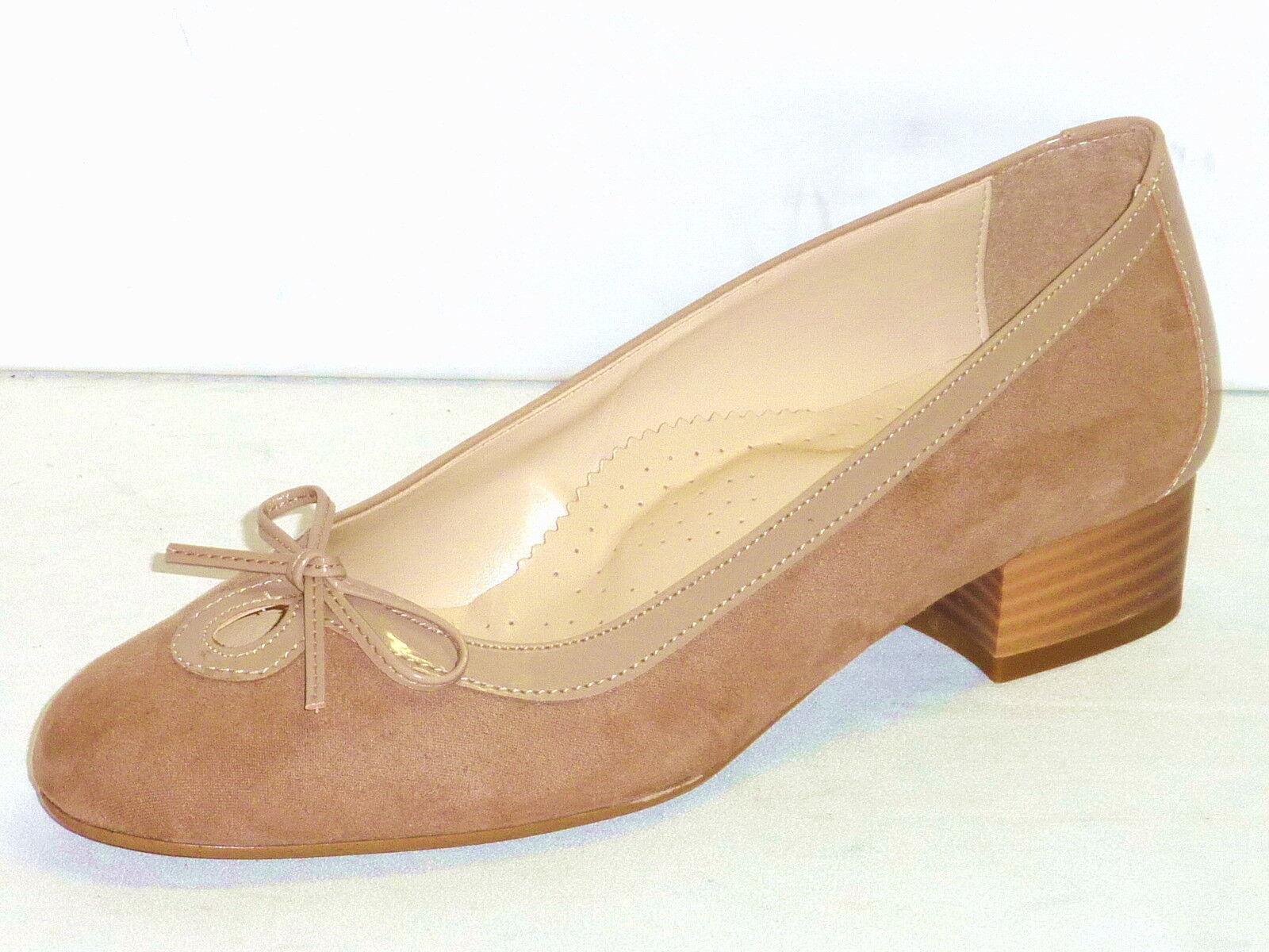 Zapatos casuales salvajes Descuento por tiempo limitado SCARPE DONNA DECOLLETE' TACCO BASSO CON FIOCCO PLANTARE ANATOMICO BEIGE  n. 37