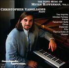 Kupferman: Piano Music Vol.1 (CD, May-1996, Soundspell)