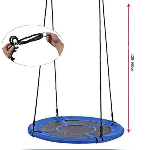 "40/"" Flying Saucer Tree Swing Children/'s Multi-Color Rainbow Swing Easy Install"
